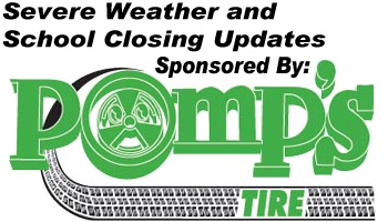 Pomp's Tire Marquette Sever Weather Update Sponsor Sunny 101.9
