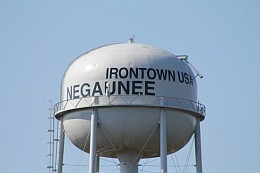 Neguanee Michigan Irontown USA - Home of the Negauee Miners