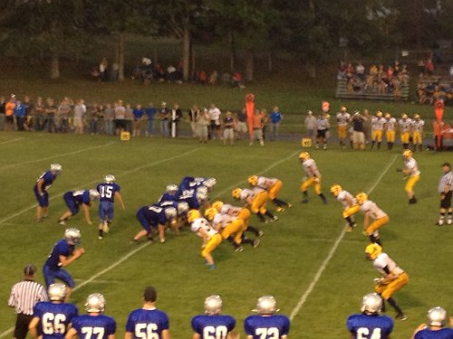 Negaunee Miners at Calumet August 30, 2012