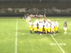 Negaunee Miners on Field - Friday, August 24, 2012