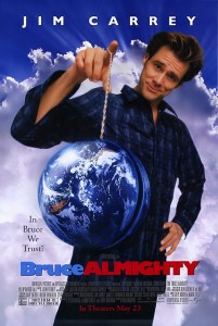 bruce almighty poster