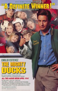 The3 Mighty Ducks Poster