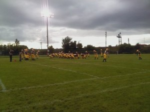 The Negaunee Miners VS Gladstone Braves - Friday, September 7, 2012