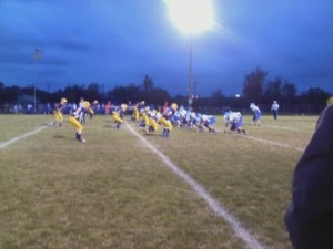 The Negaunee Miners VS Ishpeming Hematites at Miners Stadium in Negaunee on Friday, October 5th, 2012 - Sunny 101.9 WKQS-FM