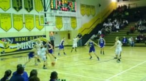 Negaunee Miner Girls Basketball VS. Ishpeming Hematites on Sunny 101.9 WKQS