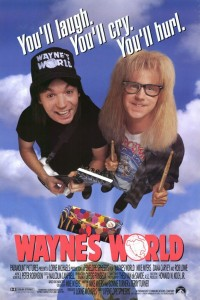 Wayne's World Movie Poster