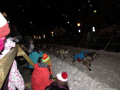Sled dog racing, Marquette MI