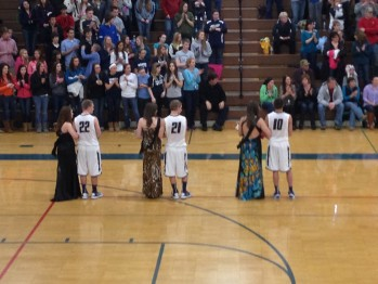 It was senior night in Norway as the Miners knocked off the Knights to win the conference championship.