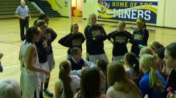The Negaunee Miners take down the Iron Mountain Mountaineers at home to remain atop the conference.