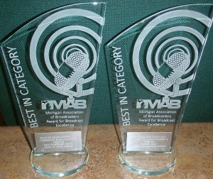 The MAB Best In Category awards won by WKQS-fm.