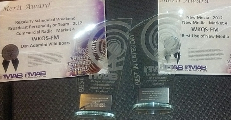 Great Lakes Radio Stations were honored with Awards from our peers on Broadcast Excellence