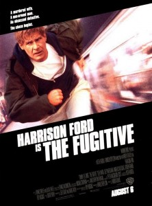the fugitive movie poster