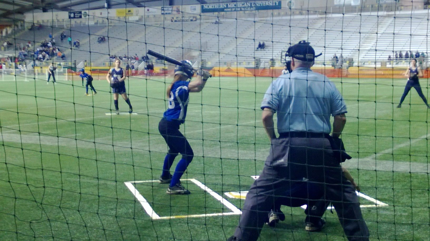 Ishpeming Hematites Girls Fastpitch First Game Ever