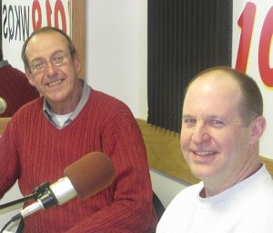 Bill Schrandt and Gary Penhale of the Negaunee Male Chorus.