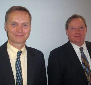 Asst. US Attorney Maarten Vermaat and Marquette County Prosecuting Attorney Matt Wiese.