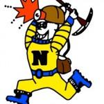 Negaunee High School Miners Mascot Logo