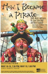 How I Became A Pirate! Poster