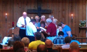 Champion Lutheran Church Re-ordain Pastor
