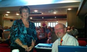 Lutheran Pastor and Husband serve Champion
