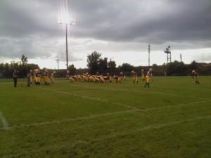 The Negaunee Miners VS Gladstone Braves - Friday, September 7, 2012