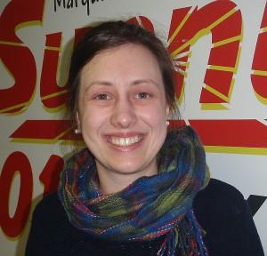 Save The Wild U.P. Executive Director Alexandra Thebert.
