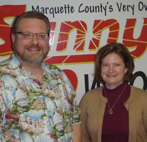 Paul Olson on his final visit to the SUNNY Studio.  Joined by the new GLCYD Radio Voice, Amy Quinn.