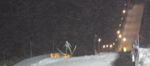 90meter Ski Jumps were fantastic at Suicide Hill Ishpeming