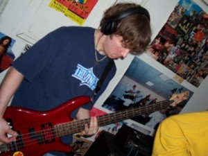 Myself rocking the bass a long time ago...
