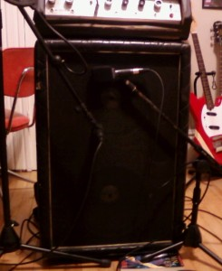 The amp in question refused to speak until Sunday.
