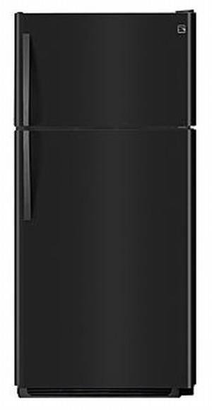 Sears Kenmore Black18 cubit inch Top-Freezer Refrigerator(1)