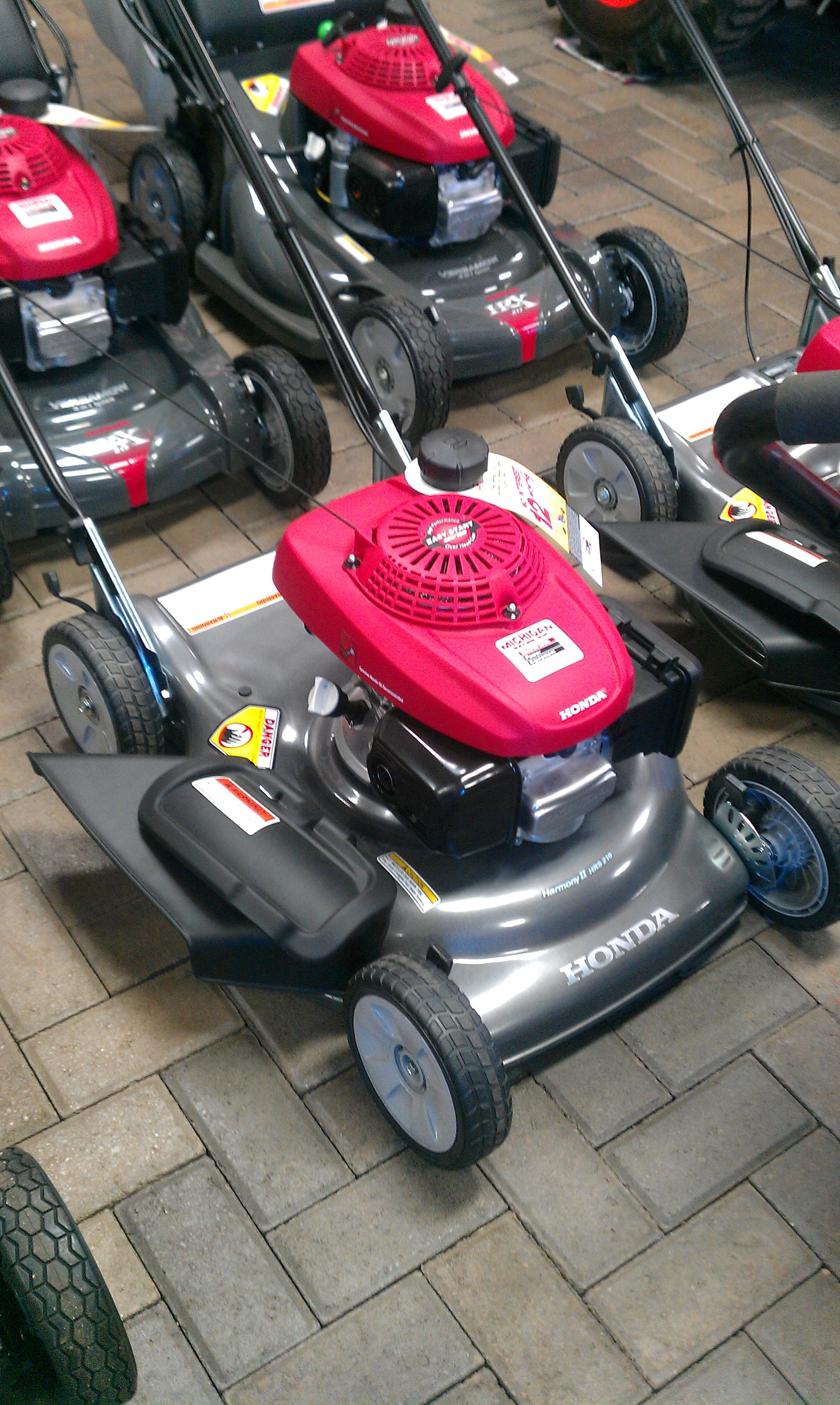 mower in store